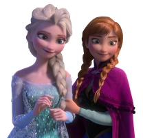 Elsa and Anna - Vector by Simmeh