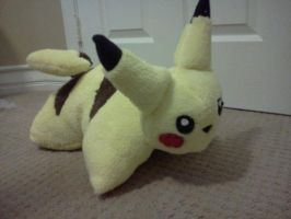 Pikachu Pillow Pet by theamazingwrabbit