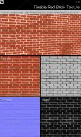 Tileable Brick texture 2 by HollowIchigoBanki