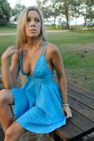 Louise C - blue dress 3 by wildplaces