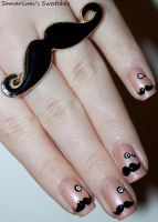 Mustaches and Monocles by SamariumsSwatches