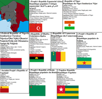 Aftermath Timeline West Equatorial Africa Map by tylero79