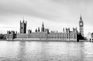 Westminster Palace - London by ThomasHabets