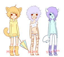 Dotty base keepers+ demon for linoleumitalics by Kiwi-adopts