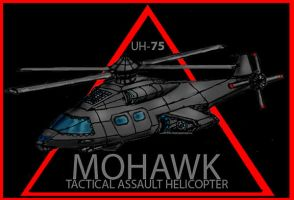 Mohawk assault Helicopter by Andared