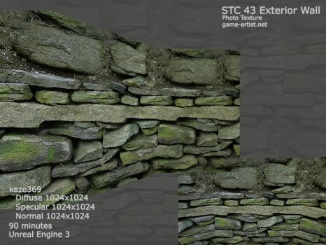 STC 43 Exterior Wall screen by hiten369