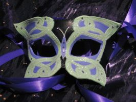 Celtic Butterfly Mask by ToTheMask