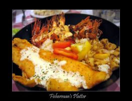 Food - Fishermans Platter by ickycherry