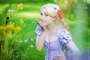 Rapunzel - Tangled by Staxel
