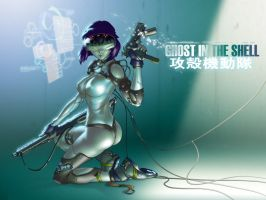 GitS wallpaper - 1024 x 768 by chesterocampo