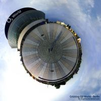 Orbiting O2 World - Berlin by Graphica
