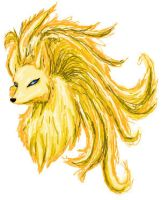 iScribble NineTails by flamekittie84