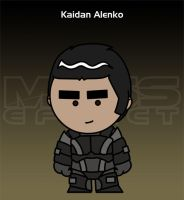 Mass Effect - Kaidan Alenko by criz