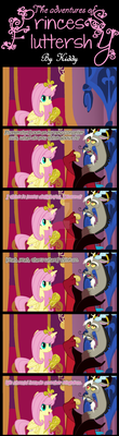 The Adventures Of Princess Fluttershy by kiddysa-bunnpire