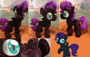 nyx plush by mylittlezombie