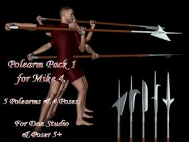 M4 Polearm Pack 1 by aestheticdemon