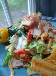 Turkey Salad with Corn Chips No. 2 by Ingridks1