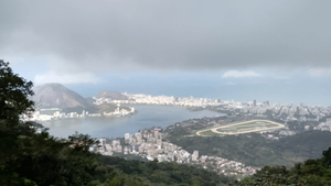 Rio de Janeiro, From Paineiras (Vectorized) by TheDrifterWithin
