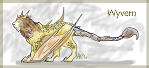The Tawny Wyvern by InvisibleCatfish