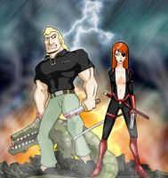 Brock and Molotov by RightHandOfDoom