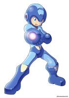 Megaman (UMX version) by ultimatemaverickx
