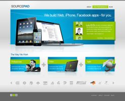 Source Pad Web Design by dFEVER