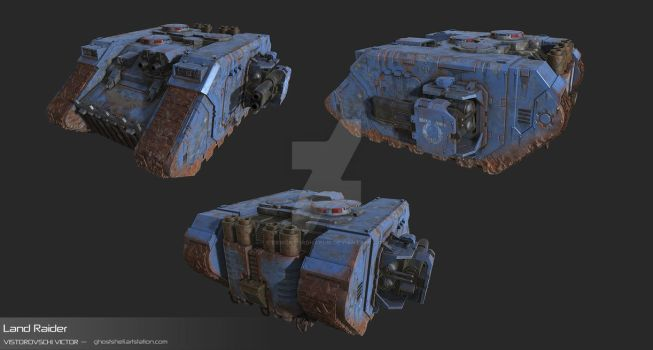 Land Raider by DemonLordHakubi