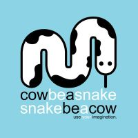 snake and cow by astomictronic