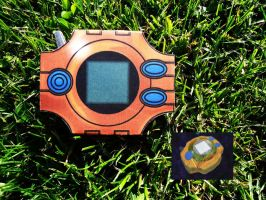[Digimon] Tais Digivice - Papercraft by Mixowelle