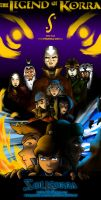 Poster The Legend of Korra Season 2 by SolKorra by SolKorra