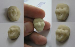 Smiley Eraser by Kutaly