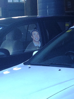 When Nicholas Cage is creepily waiting in the car by Megalomaniacaly