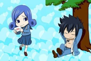 Gruvia - Off art. School time by SweetLotos