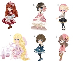 Selfy Adopts! WTA CLOSED (Batch No. 2) by Satoa123