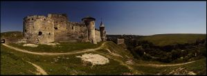 Kamyanets-Podilskyy the castle by mikeb79