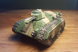 Imperial Guard Chimera by jakvin