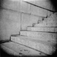 Stairs at the Eternal Light Peace Memorial by matthew-s-hanson