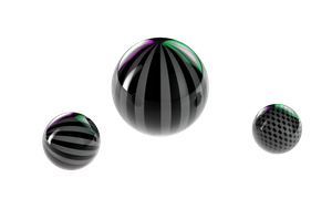 Stripe Sphere by koza30