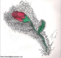 Courses of my Rose by Nza-arteek