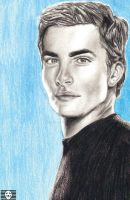 Chris Pine Portrait by SeedofSmiley