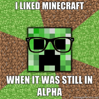 Hipster Creeper by RaincloudProductions