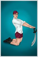 Pinup Charles by zsomeone