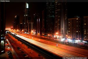 Sheikh Zayed Rd by hannajohn
