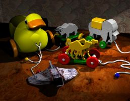 Pull Toys - 3D Graphics by AskGriff