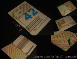 Creative Book for Graphic Design Fall 2011 by vacant-xpressi0ns