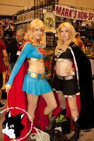 Supergirls by ZazMan