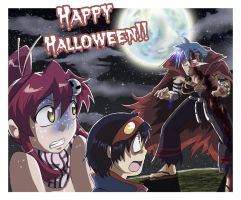 Gurren Halloween by black3