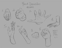 Hand Doodles by Art-Jam