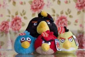 Angry Birds by SurinameBlogger