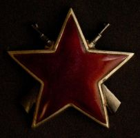 Yugoslavia Partisan Star by daliscar